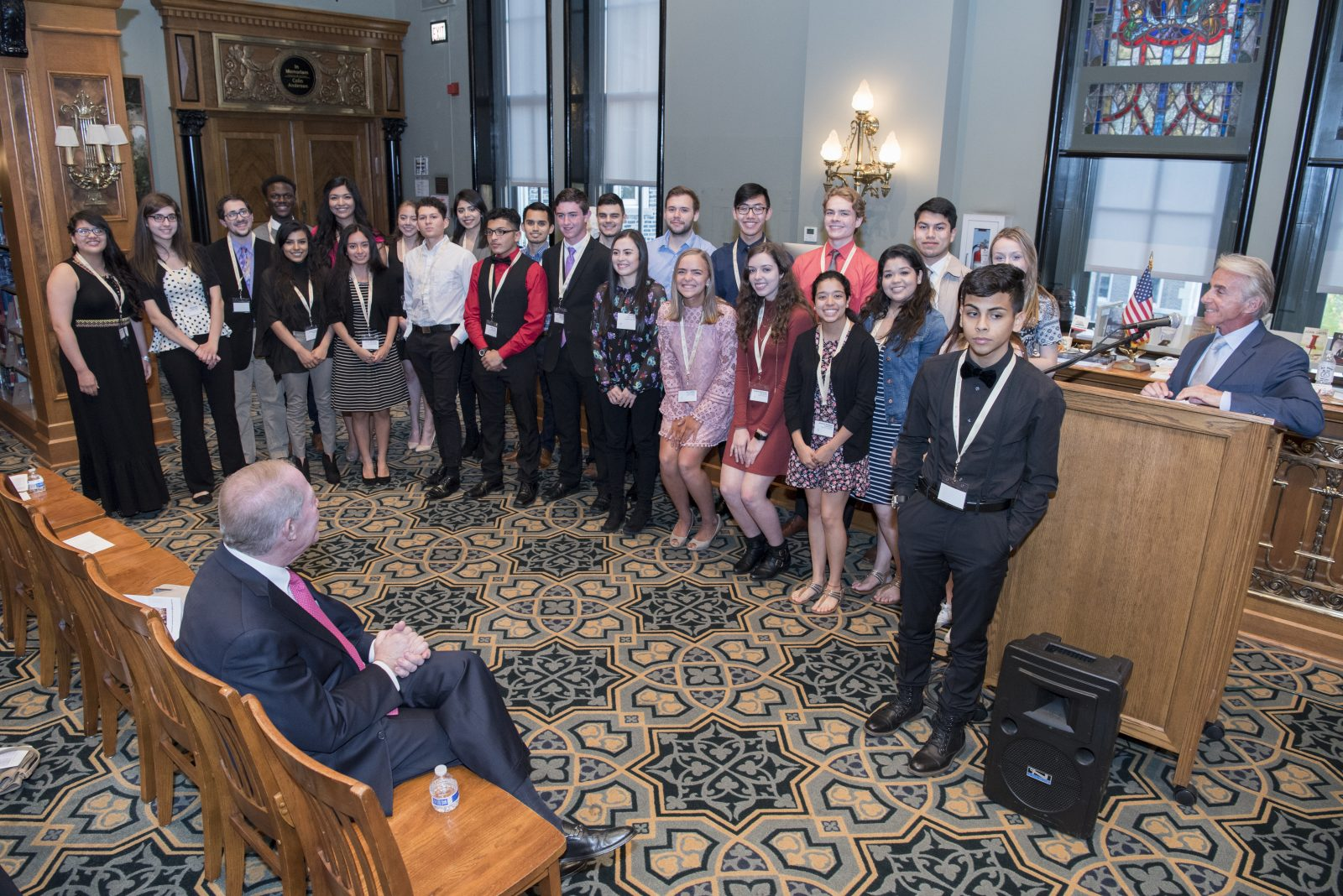 New and Existing Scholars at our 2017 Awards Ceremony