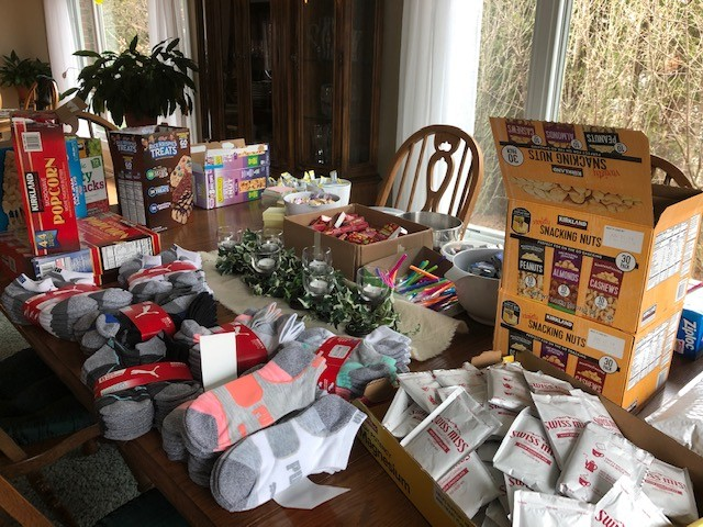 HEAR Enrichment Committee Sends Another Care Package